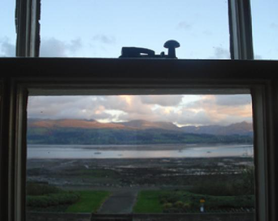 Beaumaris, UK: View on Arrival