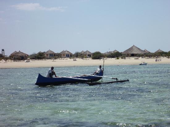 Anakao Ocean Lodge: Playa del Hotel