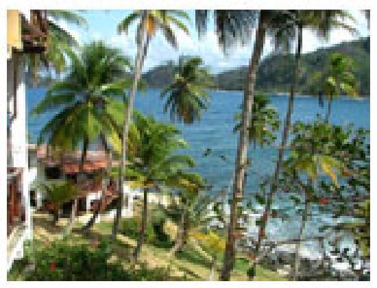 Isla Grande, Panama: paz