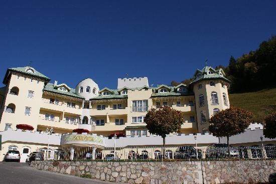 Hotel Ferienschlössl: Hotel von Aussen