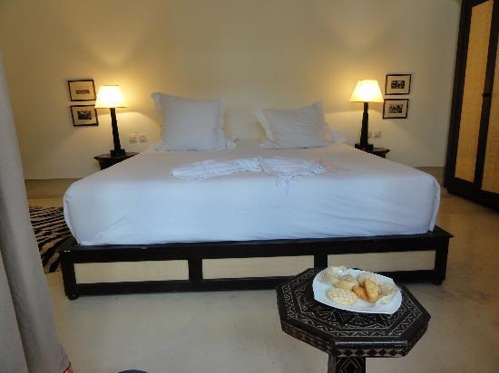 Riad Dixneuf La Ksour: ベッド