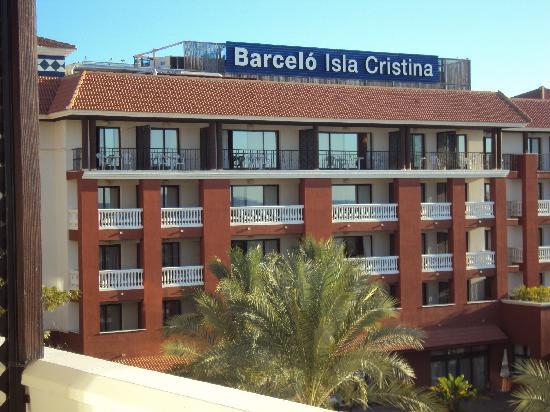 Occidental Isla Cristina: desde la terraza