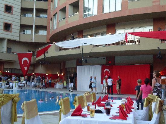 Side Star Park Hotel: turkish night