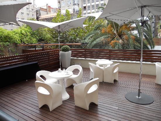 Terrazza picture of eurostars bcn design barcelona for Terrazza design