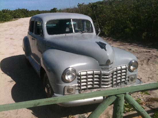 Cayo Coco, Κούβα: The car 49 Plymouth