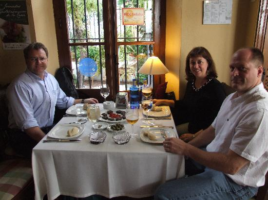 El Choto Restaurante: a lovely lunch
