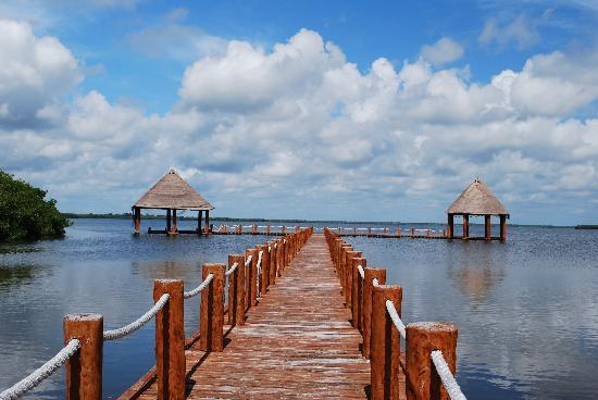 Beloved Playa Mujeres: The hotel lagoon