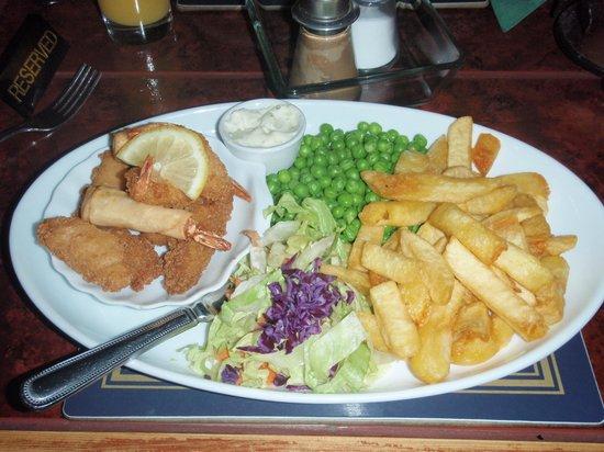Wellington Inn: Seafood platter
