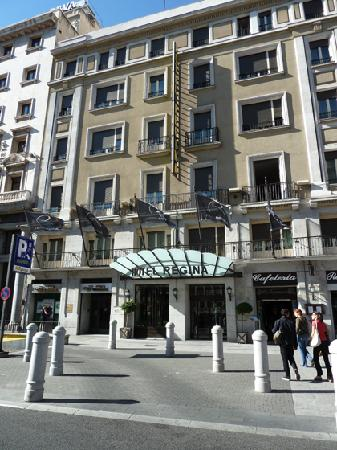 Right on calle alcala picture of hotel regina madrid for Hotel regina alcala 19 madrid