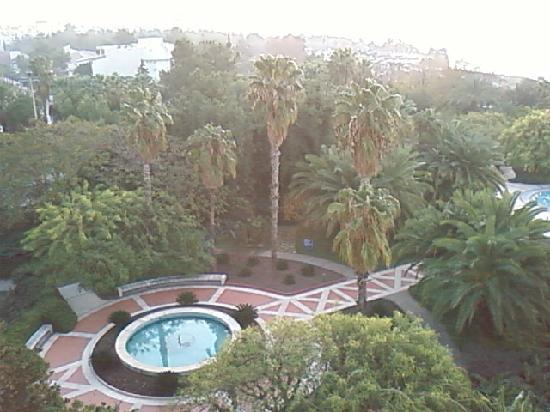 Ozkaymak Falez Hotel : Par contre jolie vue du balcon