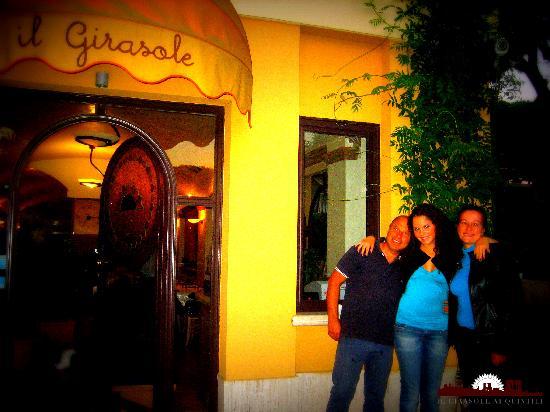 Il Girasole Ai Quintili: Ospiti del ristorante