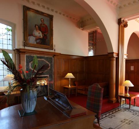 The Headland Hotel: The Foyer