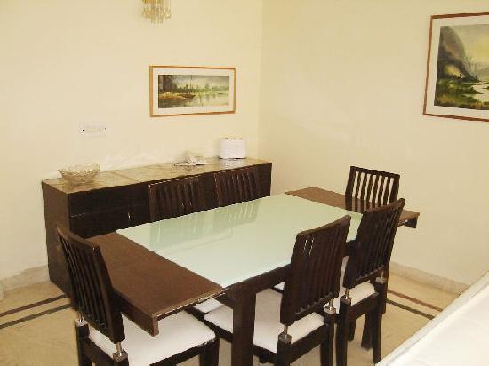 BnB Mi Casa: Dining area