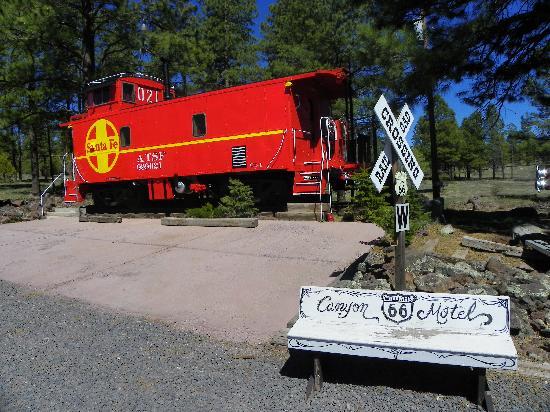 Canyon Motel & RV Park : Ca y est vous êtes sur la route 66.