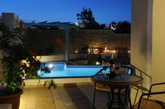 Villa Rose: swimming room