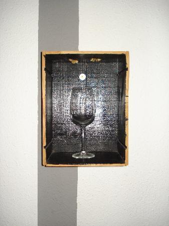 Hostal El Cid Valencia : decorazione alle pareti