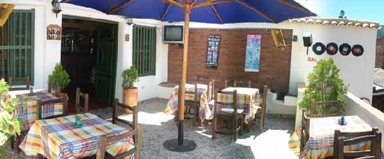 Hospederia Balcones De San Sebastian: Terraza Restaurante
