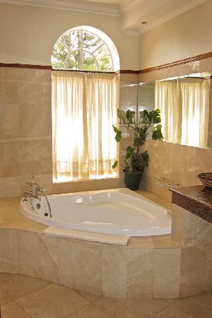 House of Waine: Bathtub in Malaika Suite