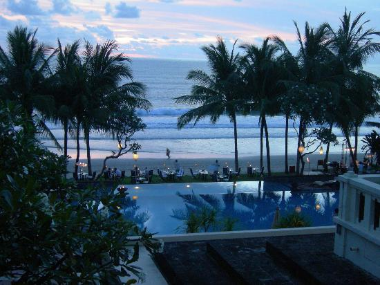 The Legian Bali: view from the balcony