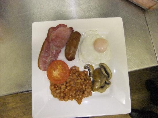 College Guest House: Full breakfast.