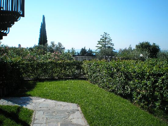 Residence i Vigneti del Garda: Our little yard.