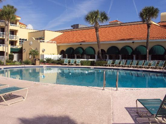 The King and Prince Beach and Golf Resort: One of the oceanfront pools