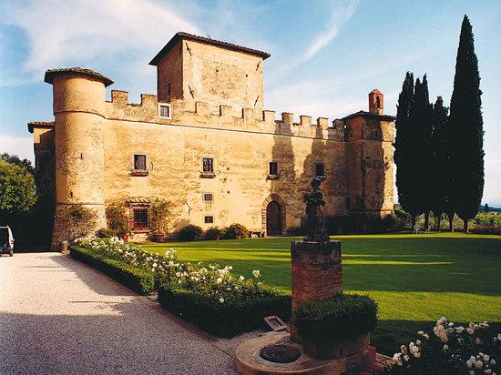 Barberino Val d'Elsa, Italia: castle