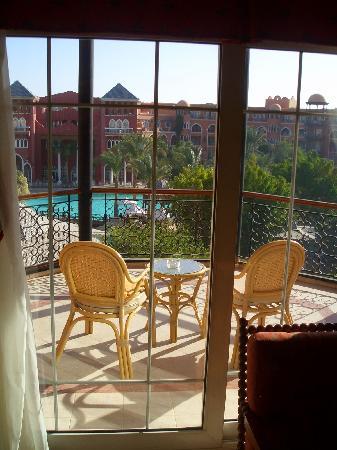 blick auf den balkon  Grand Resort 5*, Єгипет,  Хургада - photo