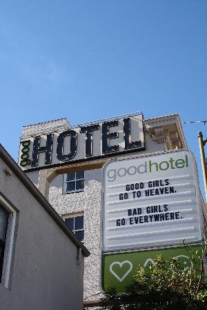 The Good Hotel: from the outside