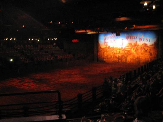Buffalo Bill's Wild West Show with Mickey & Friends: The BBWWS Arena.