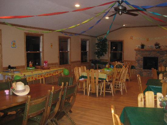 Triple B Ranch: Woodland Room for Birthday parties