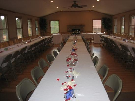 Triple B Ranch: Woodland Room for Weddings