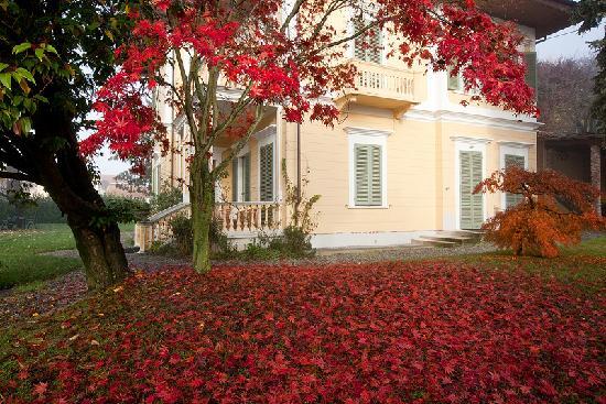 Autumn colors Villa d'Azeglio