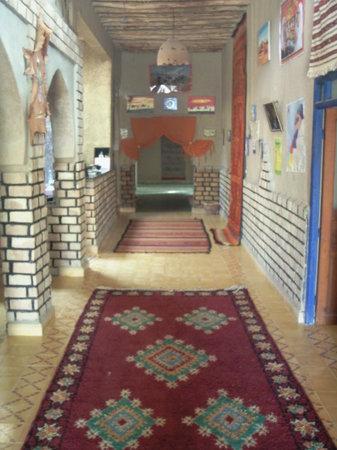 La Maison Rurale: l'entrée de l'auberge