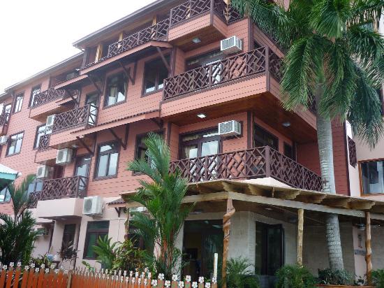 Hotel Palma Royale : vista de este precioso hotel