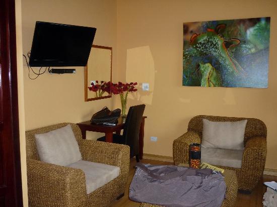 Hotel Palma Royale : vista de la habitación