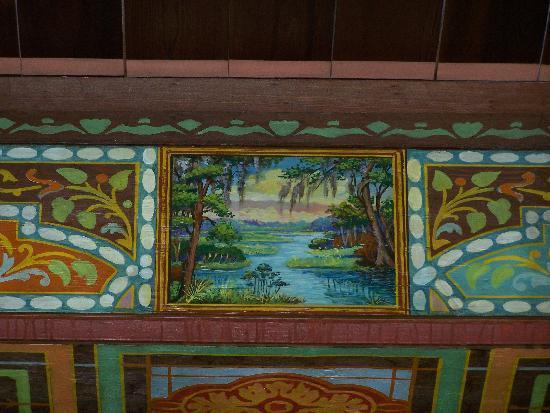 Lobby Ceiling Wakulla Lodge