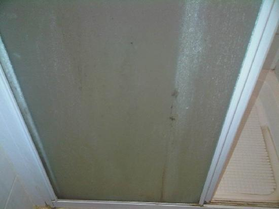 Hayesthorpe Hotel: Mould and gunge on the door