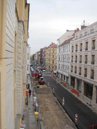 Hotel Augustinenhof: Street Outside