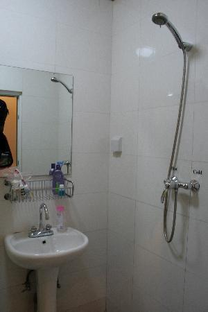 Red Lantern House: Small bathroom with western toilet!