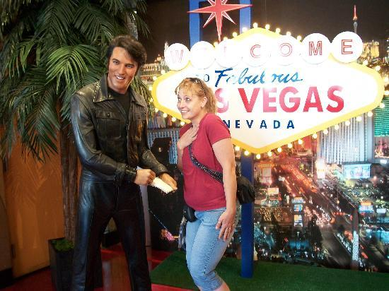 Madame Tussauds -  Las Vegas: meeting Elvis