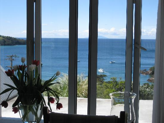 The Boatshed: View from 2nd level - bedroom