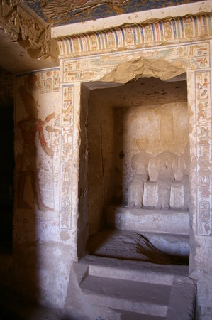 Edfu, Egypt: Internal Detail