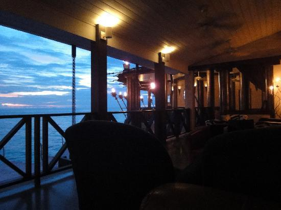 The Cliff: View from the lounge