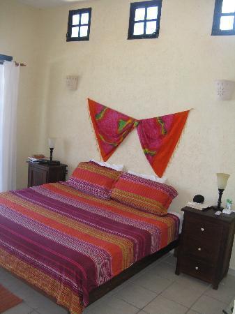 Casa Flamboyan: high ceilings make for a roomy atmosphere