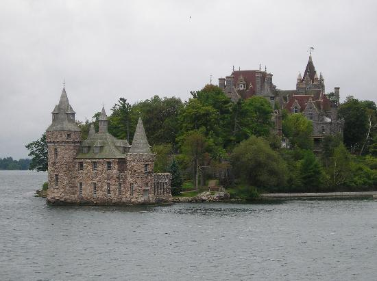 Thousand islands: Boldt Castle