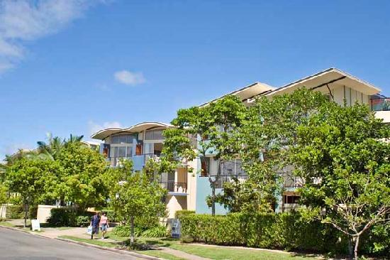 Twin Quays Noosa: Quiet location