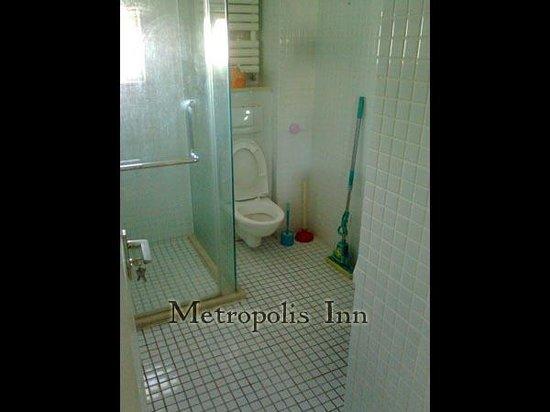 Metropolis Inn Beijing Workers Stadium : Bathroom