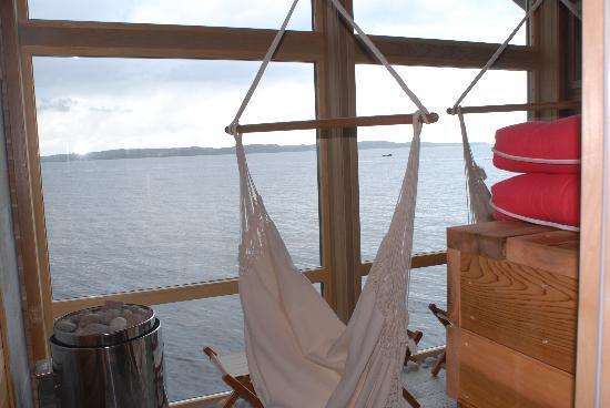 Costa occidental, Suecia: Utsikt från relaxrummet