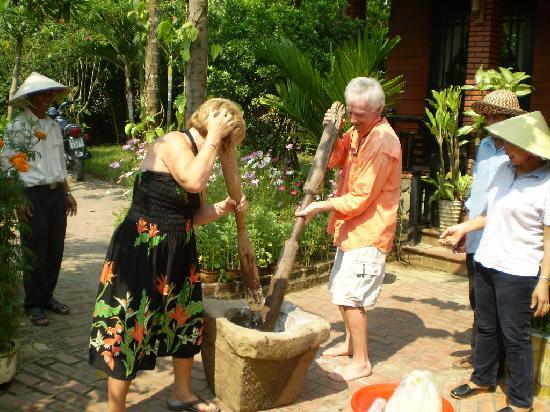 Betel Garden Villa: Lunar new year activities